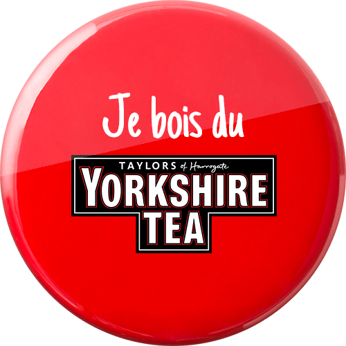 Je bois du Yorkshire Tea